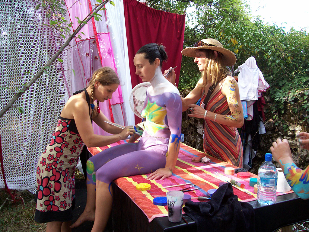 preparation-body-painting