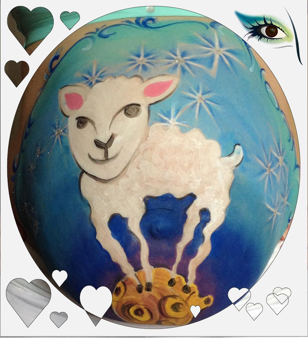 mouton-petit-prince-femme-enceinte